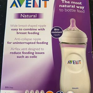 Avent Baby Bottles - Set Of 4 Used (size 4 Nipples) for Sale in Valley Stream, NY