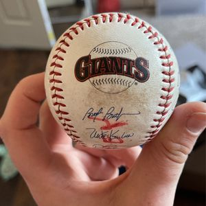 Autographed Giants Game Ball for Sale in Arroyo Grande, CA