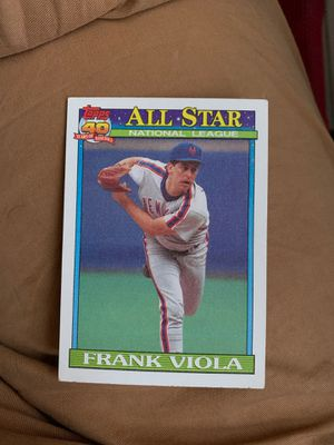 1991 Topps Frank Viola #406 for Sale in Mansfield, PA