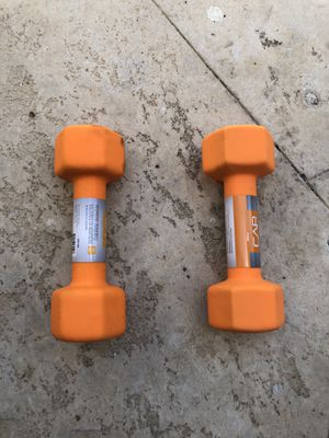 Brand new 8lbs dumbbells (Pair) for Sale in West Miami, FL