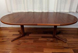 Mid Century Skovby Extendable Dining Table for Sale in Alexandria, VA