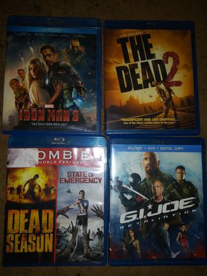 Dvds 4 for 10 for Sale in Evansville, IN