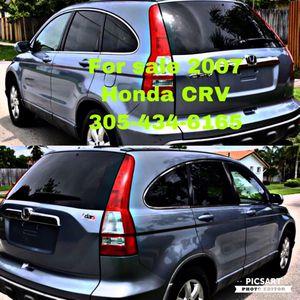 2007 Honda CRV SUV clean title 68,000 miles for Sale in North Miami, FL