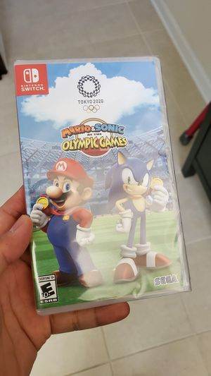 Mario&sonic Olympic games for Sale in Wheaton, MD