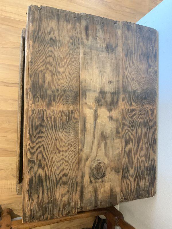 Authentic Vintage Wooden Crates