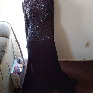 Black Long Evening Dress for Sale in Lancaster, CA