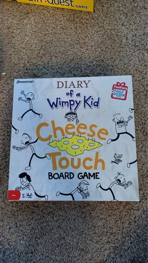 Diary of a Wimpy Kid Cheese Touch Board Game for Sale in Chandler, AZ