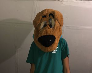 Oversized scooby doo Halloween head for Sale in New Haven, CT