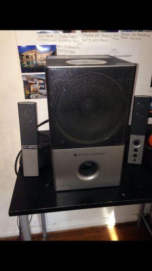 Altec Lansing Speakers Subwoofer for Sale in San Gabriel, CA