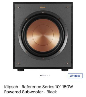 """Klipsch - Reference Series 10"""" 150W Powered Subwoofe for Sale in Orlando, FL"""