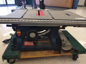 "Ryobi 10"" Table Saw with Stand for Sale in League City, TX"