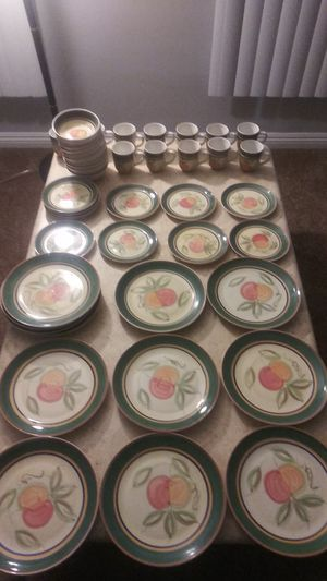 47 Piece Fine China Dinner Ware Plates, Mugs , & Bowls for Sale in Los Angeles, CA