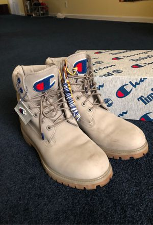 Champion x Timberland Boot Size 11 for Sale in Groveland, MA