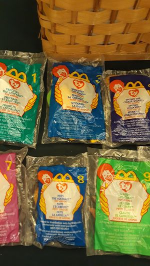 1999 McDonald's Ty Beanie Babies - $5 each for Sale in Miami, FL