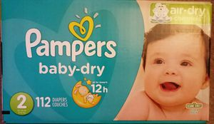 Pampers Size 2 for Sale in Renton, WA