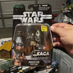 STAR WARS SAGA COLLECTION SERIES PRINCESS LEIA IN BOUSHH DISGUISE, UNOPENED for Sale in Waco,  TX