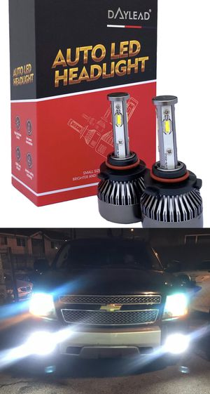 4 sided LED headlights CSP super bright lights top quality 1 year warranty for Sale in Commerce, CA