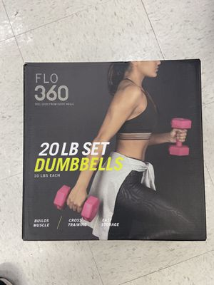 20 lb set Dumbbells brand new (10 lb for each) for Sale in Westminster, CA