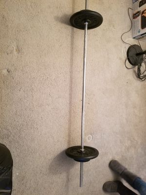 Weights and bar for Sale in Bridgewater Township, NJ