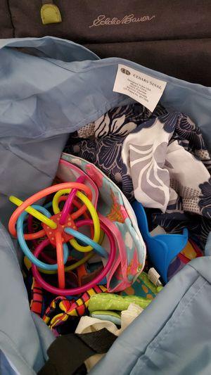 Diaper bag and newborn items for Sale in Arcadia, CA