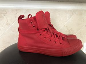 Converse Chuck Taylor Guard HI RED Mono for Sale in Kissimmee, FL