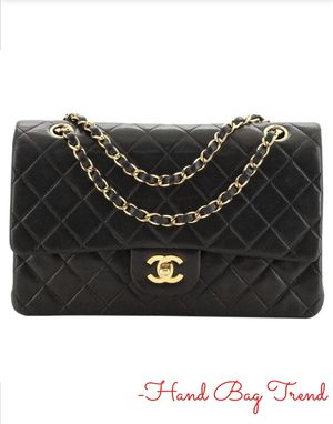 Chanel Vintage Classic Double Flap Bag Quilted Lambskin for Sale in Los Angeles, CA