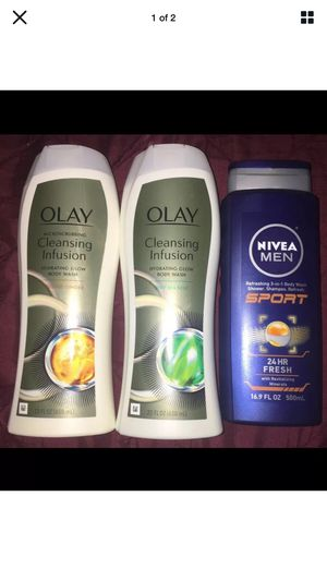 Olay Cleaning Infusion & Nivea Body Wash for Sale in Pottsville, PA