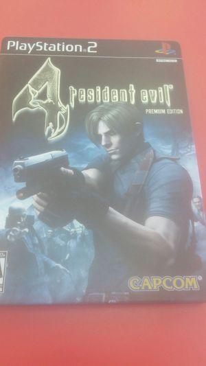 Resident Evil 4 Premium Edition PS2 for Sale in West Jordan, UT