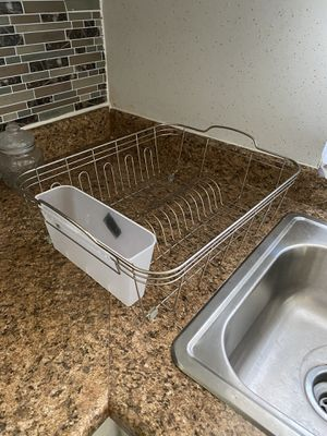 Dish rack free gratis IF ITEM IS NOT MARKED AS SOLD THEN ITS STILL AVAILABLE for Sale in East Los Angeles, CA