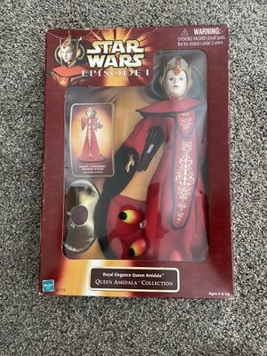 1998 Hasbro Queen Amidala Collection for Sale in Desert Hot Springs, CA