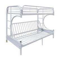White metal frame bunk bed for Sale in Chantilly, VA
