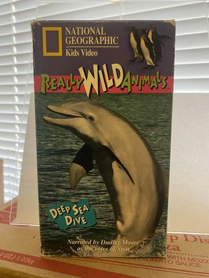 National Geographic Kids VHS 📼 Really Wild Animals, Deep Sea Dive for Sale in Albuquerque, NM