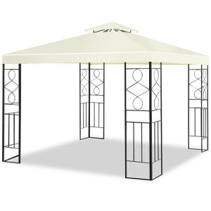 10'x10' Outdoor Patio Gazebo Canopy Tent With Steel Frame Shelter for Sale in Santa Clarita, CA
