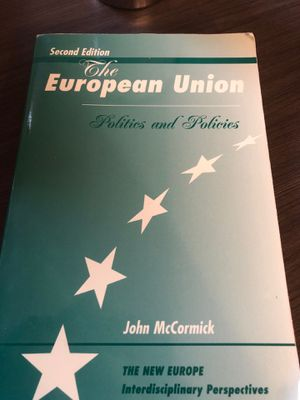 The European Union: Politics and Policies (2nd Edition) for Sale in Washington, DC
