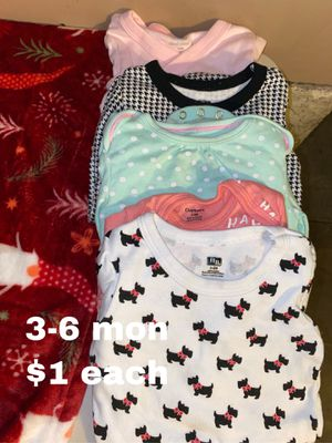 3-6 month onesies $1 each for Sale in Buena Park, CA