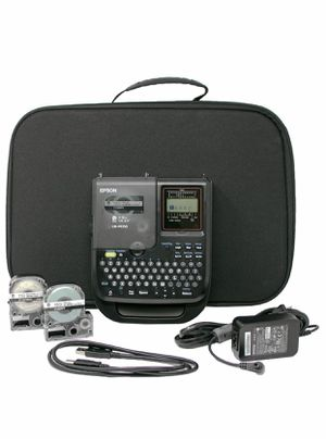 Lw-px350 industrial label maker kit for Sale in San Marcos, CA