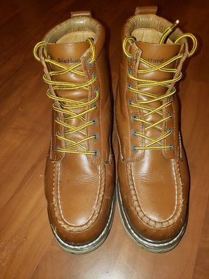 DIE HARD STEEL TOE WORK BOOTS LIGHTLY USE SIZE 10.5 USED FOR 1 WEEK ONLY $50 for Sale in Hermosa Beach, CA
