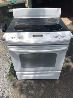 Flat surface glass burner electric stove for Sale in Frederick, MD