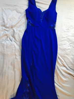 Royal blue prom dress for Sale in Washington, DC