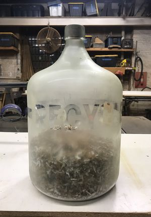 Large antique glass jug for Sale in Brooklyn, NY