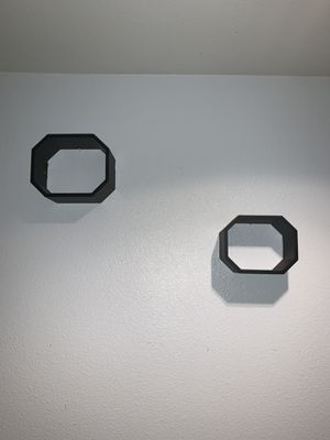 2 black woodd Wall shelves for Sale in Los Angeles, CA