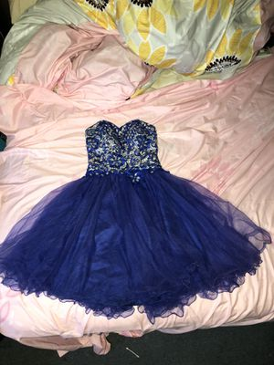 Blue corset prom dress for Sale in Boonsboro, MD