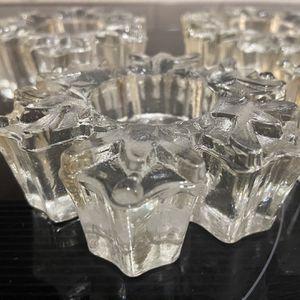 Snowflake Glass Votives for Sale in New Iberia, LA