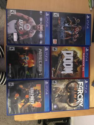 PS4 GAMES for Sale in Davenport, FL