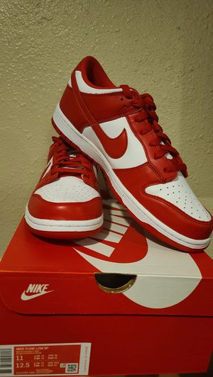 Nike Dunk Low University Red Size 11 for Sale in Los Angeles, CA