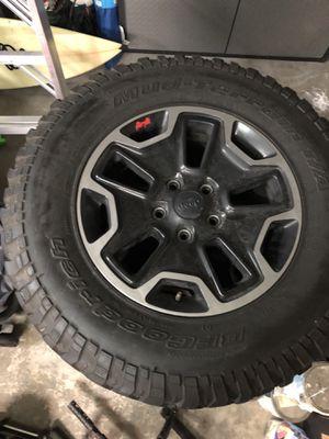Jeep Wrangler rubicon wheels rims for Sale in Palm Harbor, FL