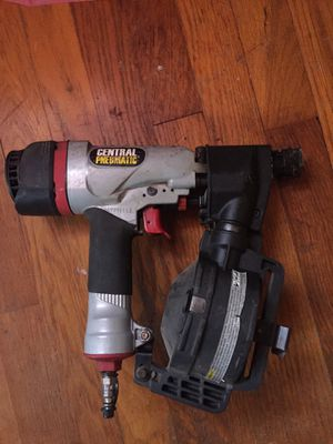 Central pneumatic nail gun for Sale in Lakeline, OH