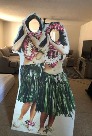 Cardboard face cutout for Sale in Atwater, CA