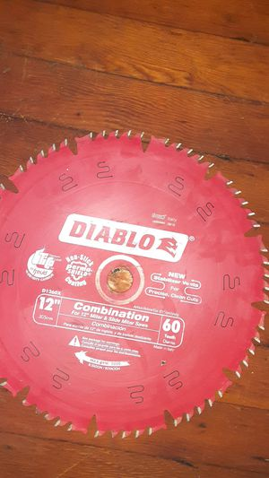 Diablo 12 inch miter blade for Sale in Hollywood, FL