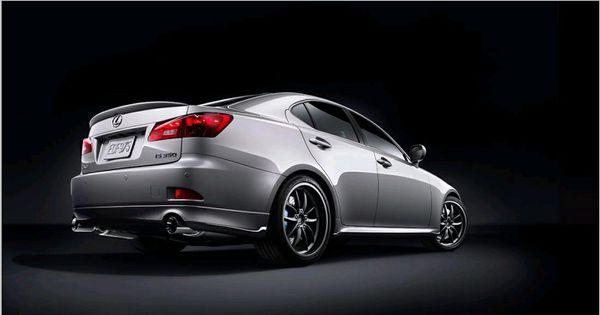Lexus F-Sport Accessories Lowering Springs